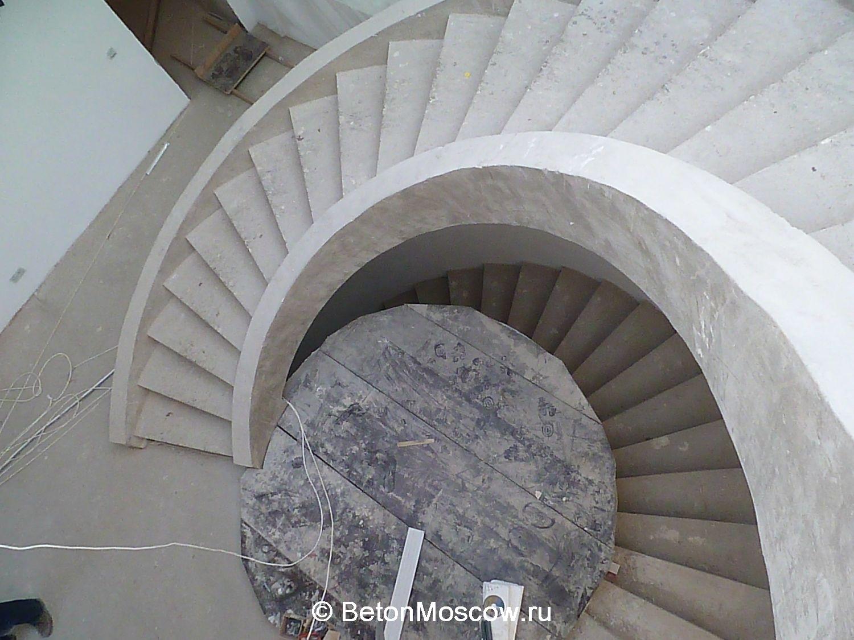монолитные лестницы из бетона московская область