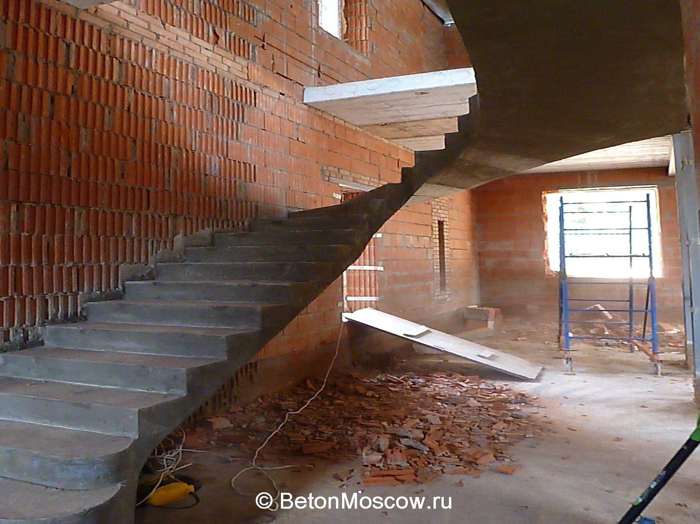 Бетоная лестница своими руками
