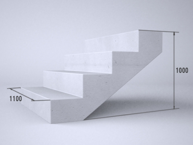 лестница средняя